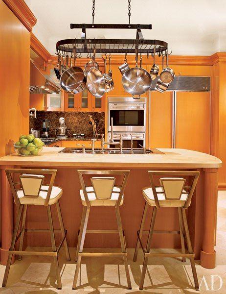 orange kitchen interior design  Kitchens Breakfast Nooks Bars  Pint