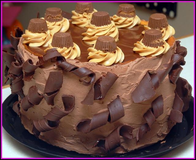 QUADRUPLE LAYER PEANUT BUTTER CHOCOLATE CARAMEL CHEESECAKE!!!!
