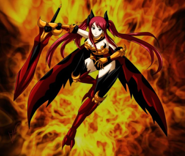 Fairy TailFairy Tail Erza Flame Empress Armor