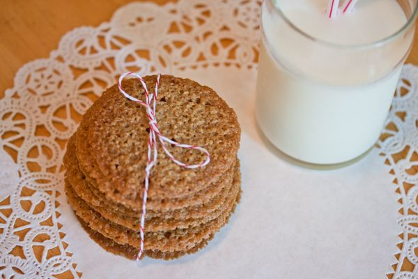 Oatmeal Crisps | Sweets | Pinterest