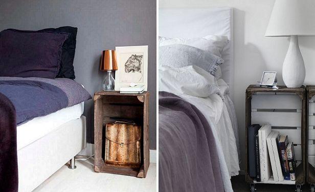 Slaapkamer inspiratie: bijzondere nachtkastjes