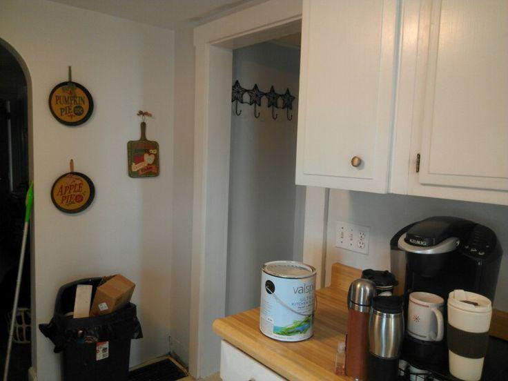 Valspar polar star light gray bathroom paint color car for Valspar kitchen and bath paint