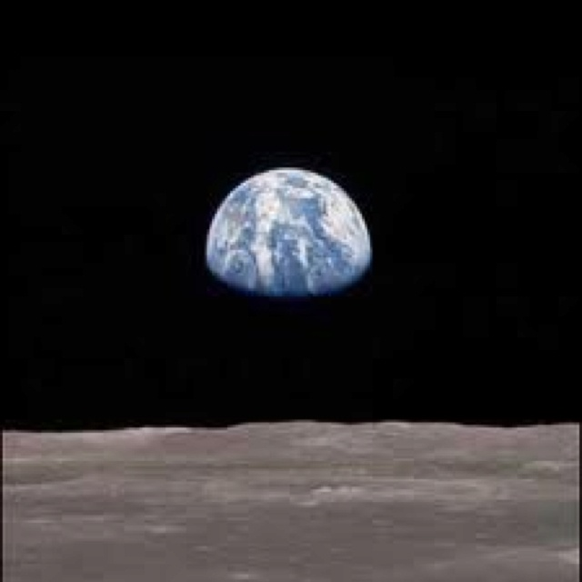 looking at drawing the moon from earth - photo #15