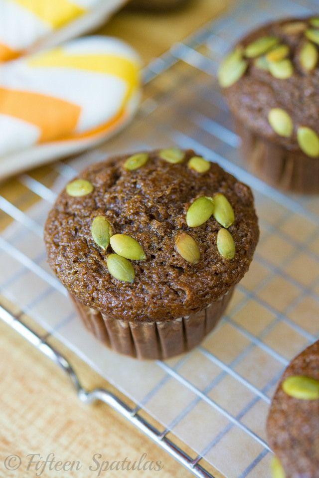 Moist Pumpkin Spice Muffins Recipe | Blogger Recipes We Love | Pinter ...