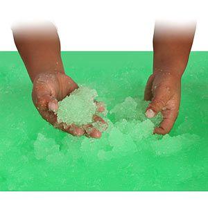 turn bathwater into goo...then back to water again! How fun!