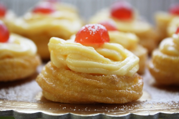 Zeppole di San Giuseppe | Food | Pinterest