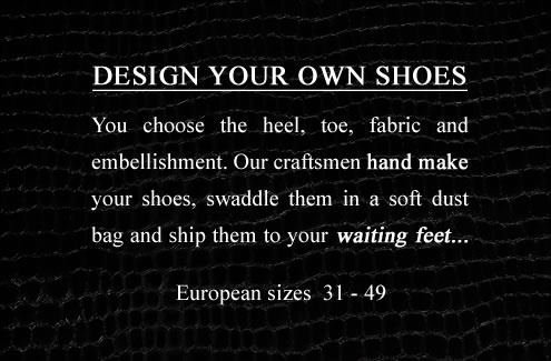 Design your own shoes online and have them delivered