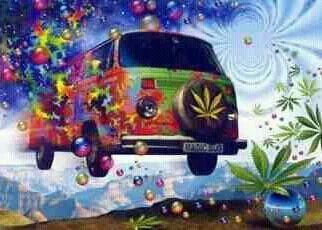 hippie stoner van groovy pinterest old vans mary jane  #9