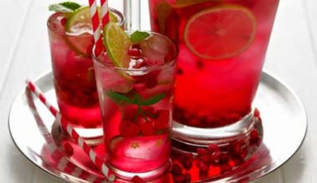 Pomegranate cooler   Recipes   Pinterest