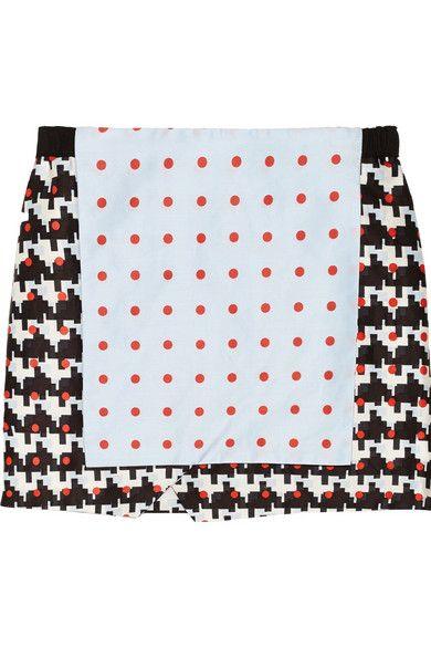 Shop now: Thakoon Addition Printed Skirt