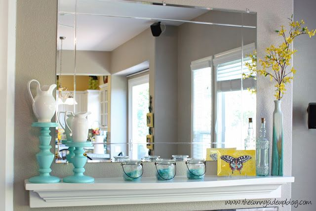 blue and yellow decor kitchen pinterest