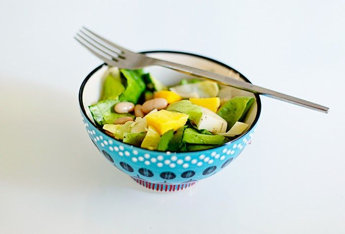 Mango, Endive, White Bean & Shallot Salad Bowl Lunch | Cook ...