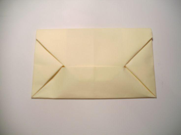 Folding Letter Into An Envelope Origami Pinterest