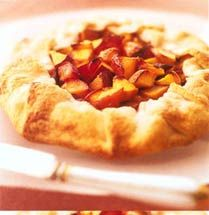 The Kosher Gourmet: PEACH CROSTATA, a free-form tart, is easy as pie ...