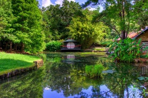 Travel Scene Bellingrath Gardens Alabama