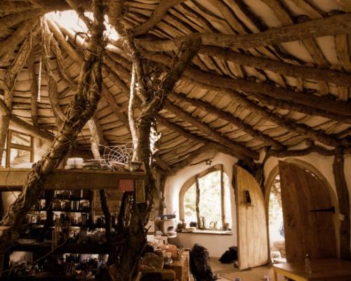 Hobbit House Roof Interior Dream Home Pinterest