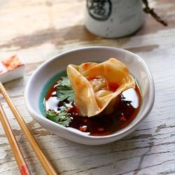 Sichuan Red Oil Wontons | Taste Bud Erections | Pinterest