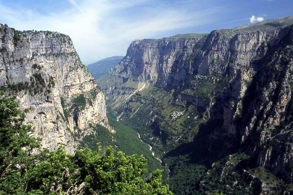 Vikos Gorge in Greece  places to see  Pinterest