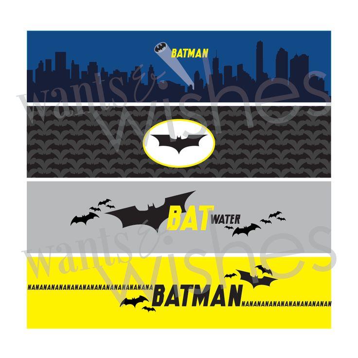 free batman printables birthday