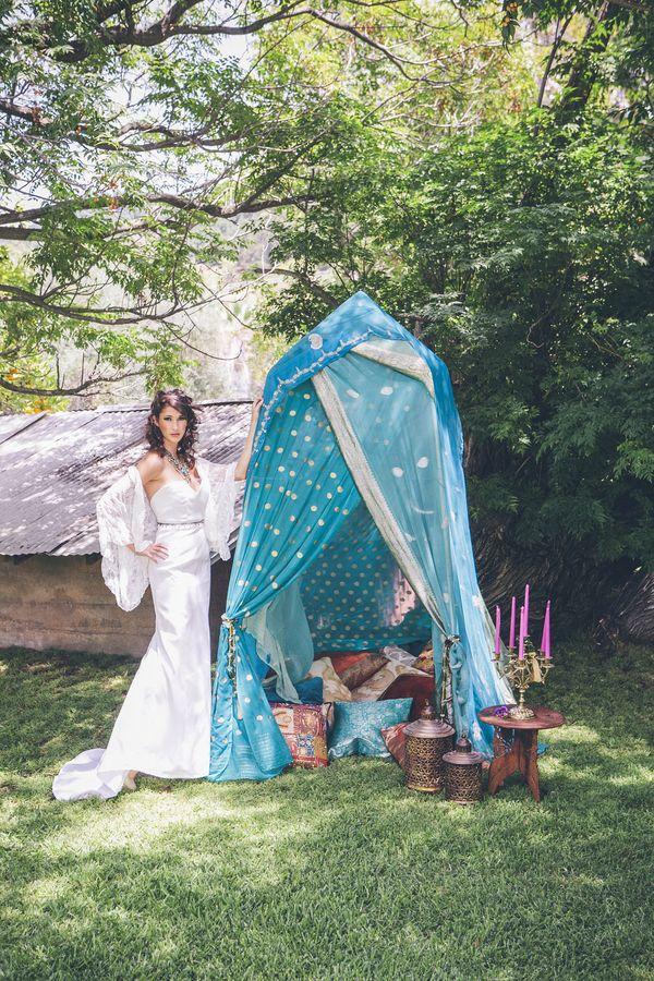 wedding bright inspiration moroccan