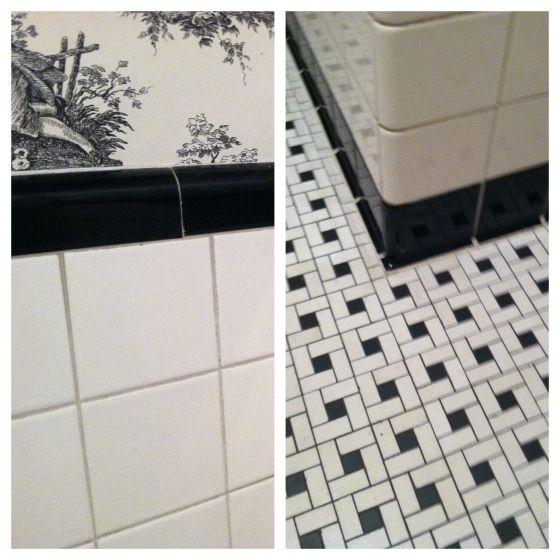 1930 39 s tile modern basket weave home elements pinterest for 1930 floor tiles