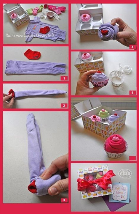 Baby clothes cupcakes conner or harper pinterest