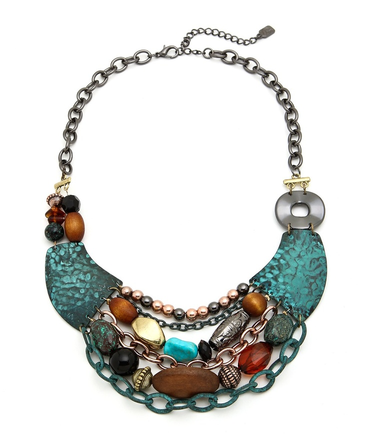 Raw Art Collar Necklace