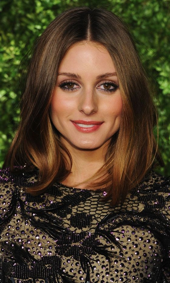 olivia palermo's hair is flawless