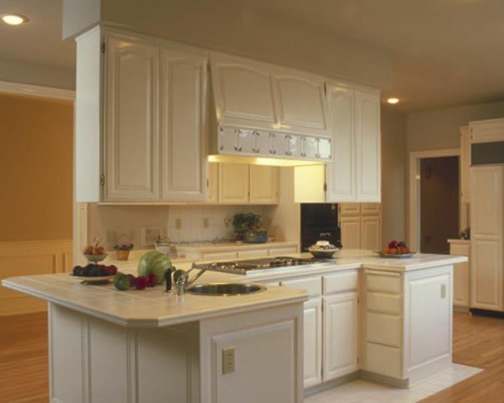 I love all white kitchens For the Home Pinterest