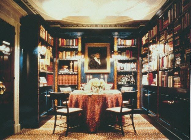 Library dining room orphanage ideas pinterest for Dining room library