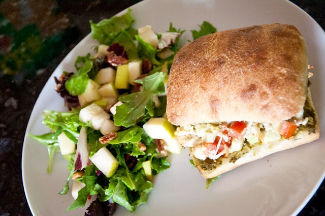 Greek Salad Sandwich | Recipes To Try | Pinterest