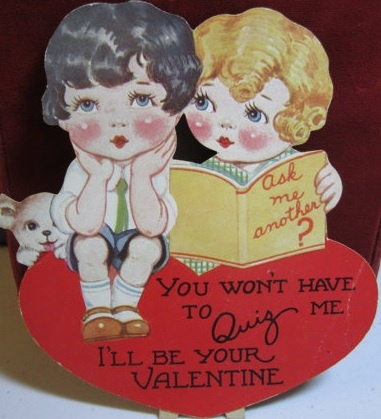 valentine cards vintage style