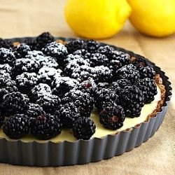 Filled with a lemon cream recipe from Tartine Bakery, this tart is the ...