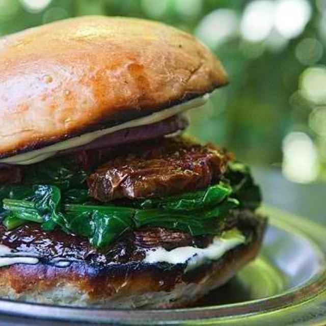 Portobello mushroom burger | Food :) | Pinterest