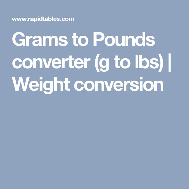 Similiar Weight Conversions Grams To Pounds Keywords