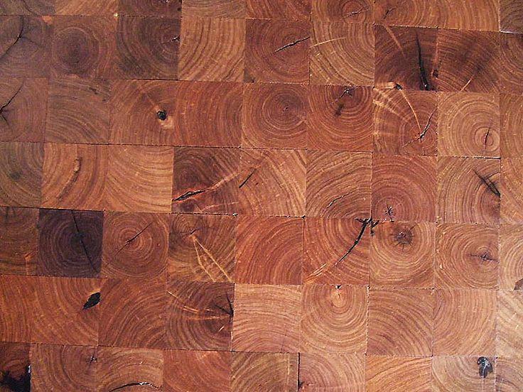 Log End Or End Grain Flooring For The Home Pinterest