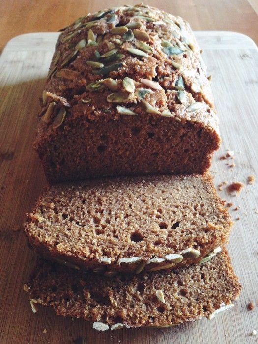 Pumpkin Tea Cake | Delightful Crumb | Breads | Pinterest