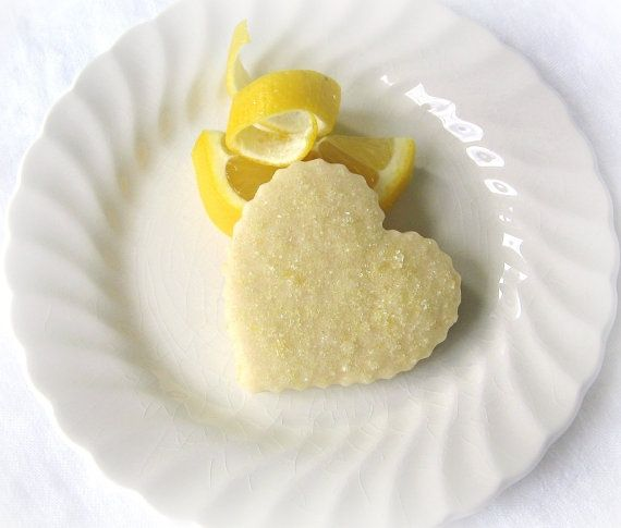 Lemon Drop cookies wedding favors | lemon shortbread cookie would be ...