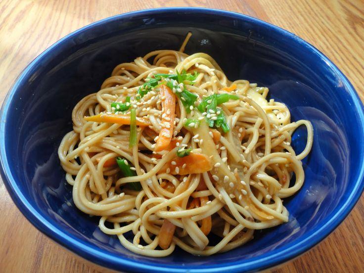 Cold Sesame Noodles | Food | Pinterest