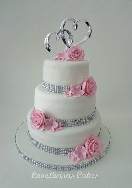 Wedding Cake Decorated With Hearts : Wedding Cake hearts Cakes ~ Highly Decorated Cake ...