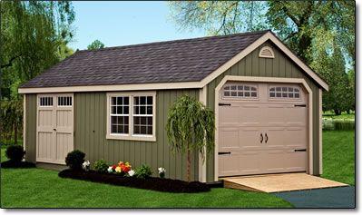 Garage shed dimensions