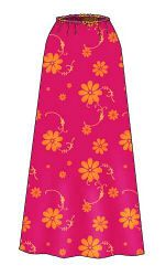Free A-line skirt pattern