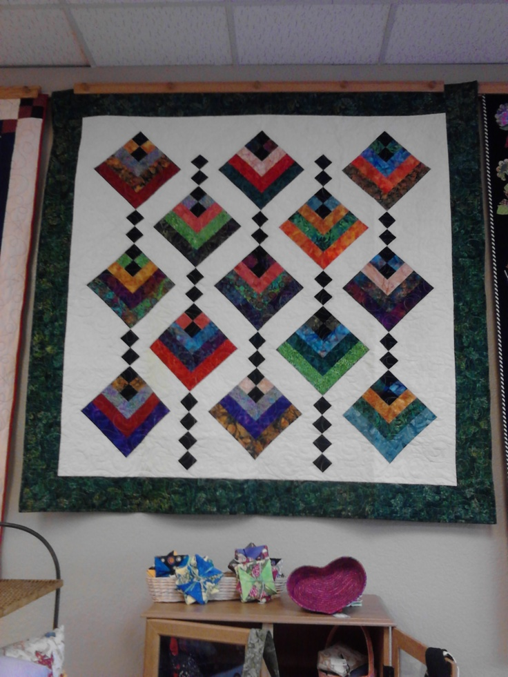 Hanging Garden Quilt In The Sewing Room Pinterest