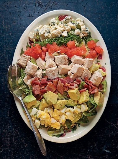 Cobb Salad Recipe Recipe Recipe - Saveur.com food-drink