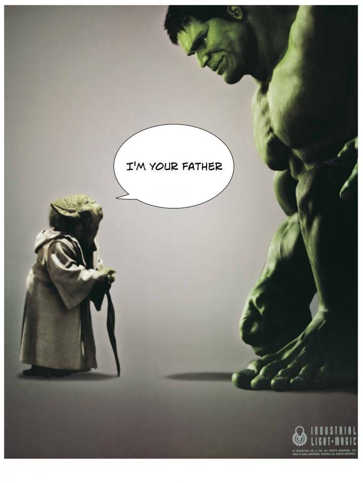 I am your father! 845e27bfc80e0c9bb05d2a9dde894f66