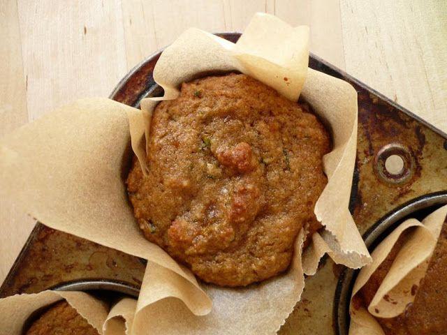 Lemon Ginger Zucchini Muffins   Sweet Food!   Pinterest