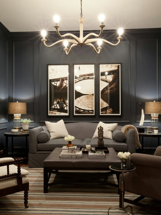 Vintage Inspired Home: Dark Walls