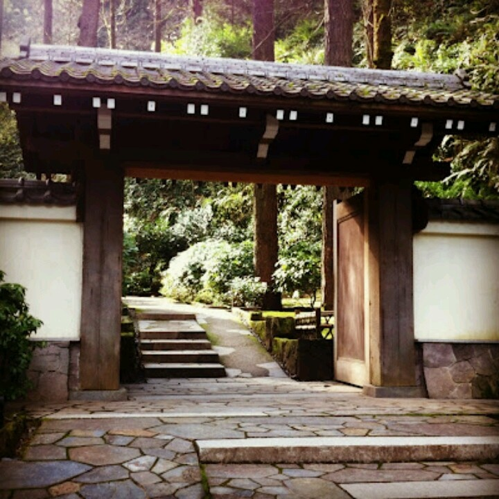 Entrance to japanese gardens my home town pinterest for Japanese garden entrance
