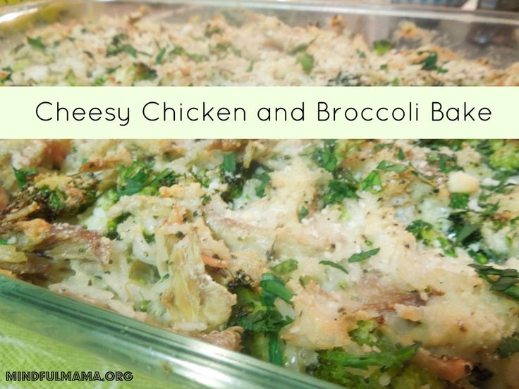 chicken and broccoli bake | Gluten Free Goodness | Pinterest