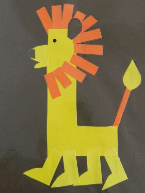learn how to spell by making fun letters like this cute lion l